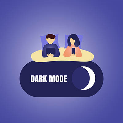 Eyestrain? Start Looking for Dark Mode on Your Devices